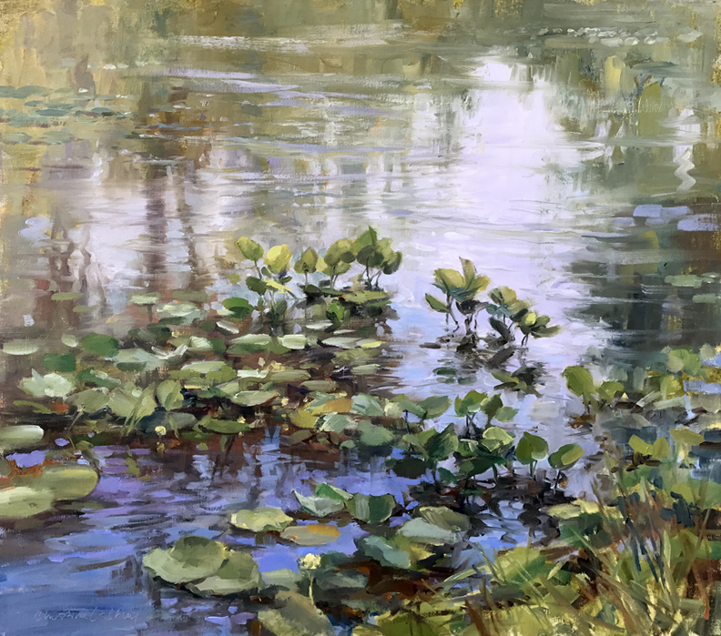 waterliliesinsummer-clashley-24x24-oil-.jpg